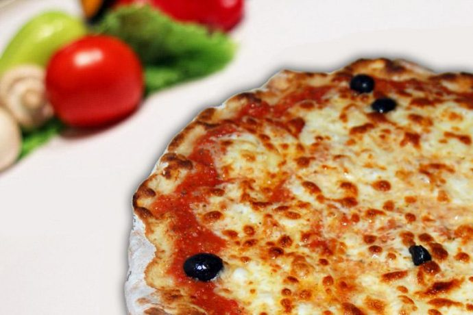 Pizza Chiapacan : Sauce Tomate - Jambon - Fromage